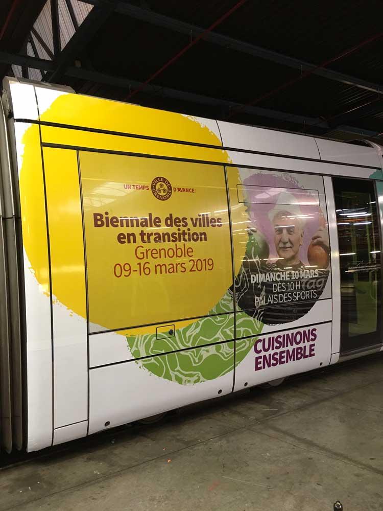 Tram Complet Biennale Grenoble 2019